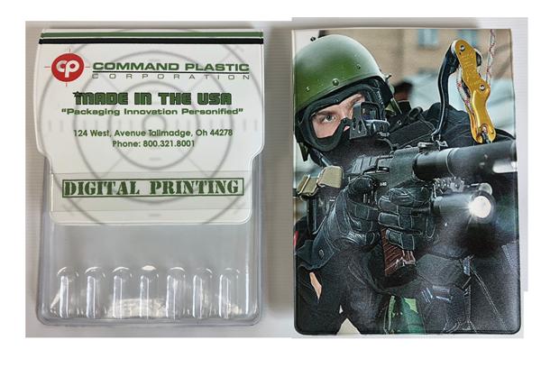 Digital printing hybrid ammunition holder