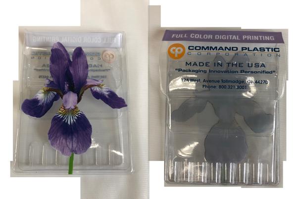 Digital printing hybrid flower packaging